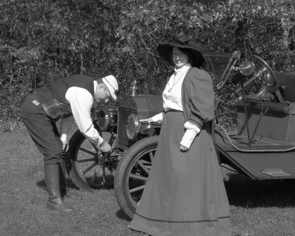 Customer photos wearing 1913 Model T