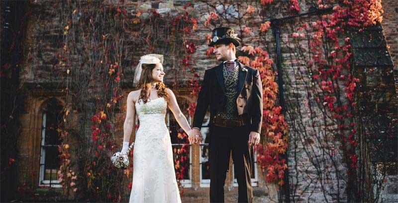 Customer photos wearing Wedding Memories