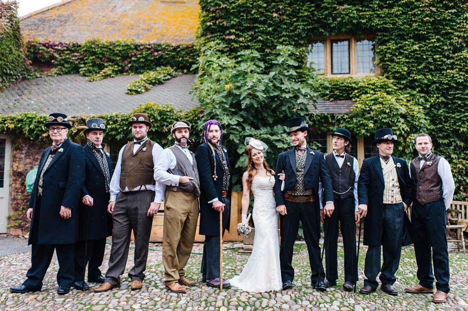 Customer photos wearing A Winning Wedding