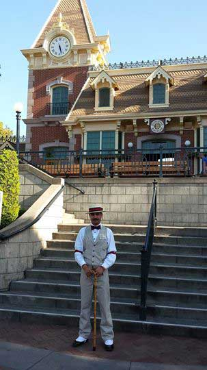 Customer photos wearing Dapper at Disneyland