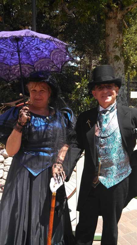 Customer photos wearing A Victorian Stroll
