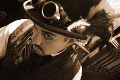 Customer photos wearing neo-Victorian Goth