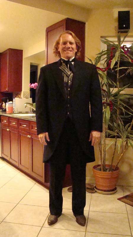 Customer photos wearing A Victorian Gentleman