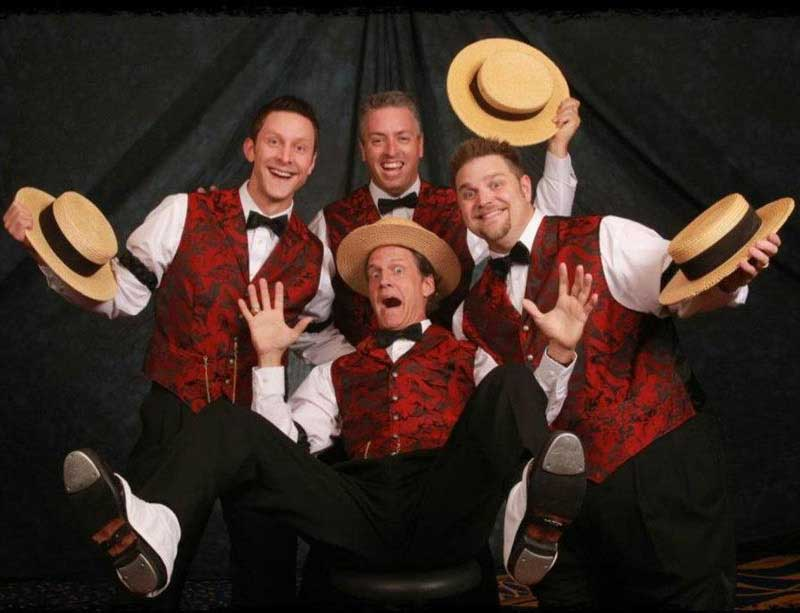 Customer photos wearing Barbershop Quartet
