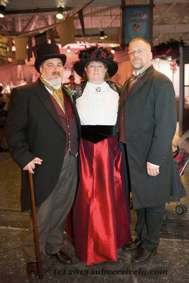 Customer photos wearing Dickens Group Portrait