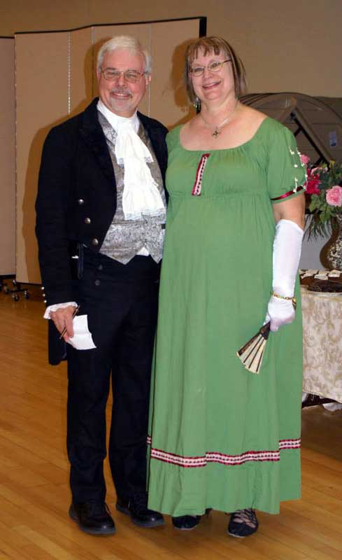 Customer photos wearing Jane Austen Ball
