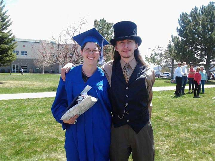 Customer photos wearing Graduating with Style