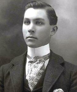 Vintage Mens Ascot Ties