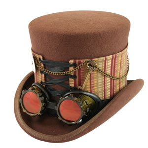 Steampunk Hat Spats