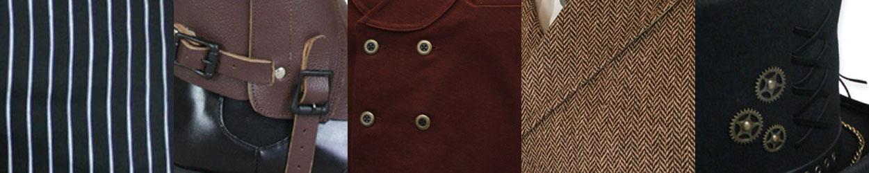 Steampunk Fashion Advice - Fabrics and Colors
