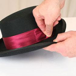 How to Attach a Hat Band