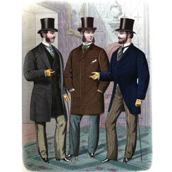 Mens Late Victorian Clothing Guide
