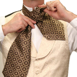How to Wear a Victorian Ascot