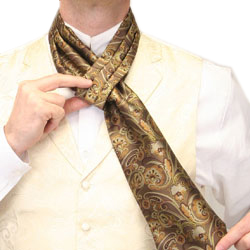 How to Wear a Victorian Slipknot Ascot