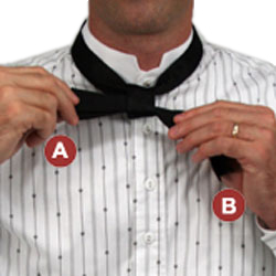 How to Tie a Western String Tie