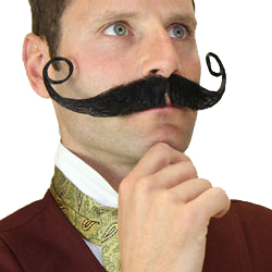How to Wear a Stage Mustache