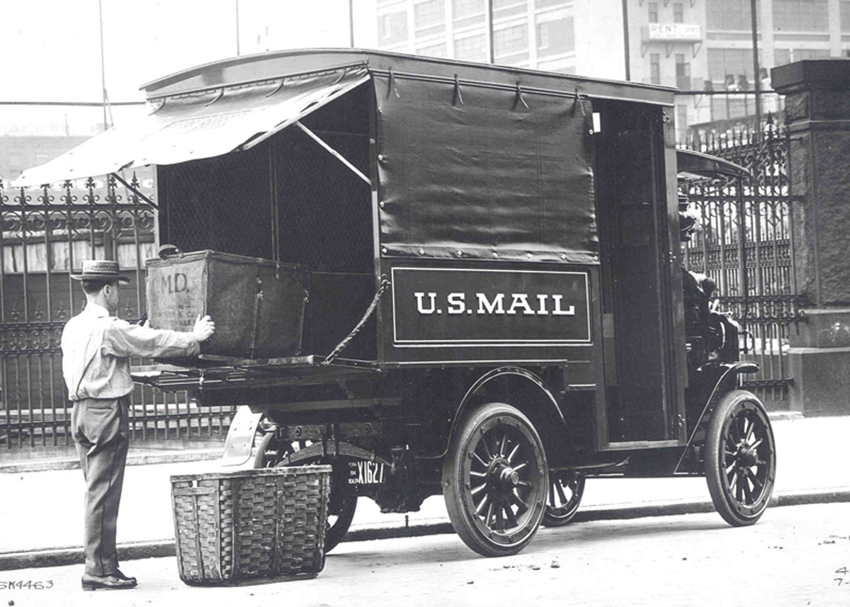 Antique Mail Truck