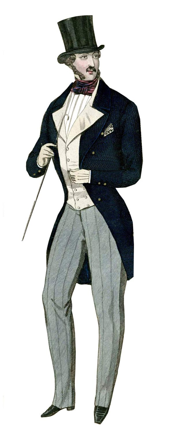 Mens Early Victorian Clothing