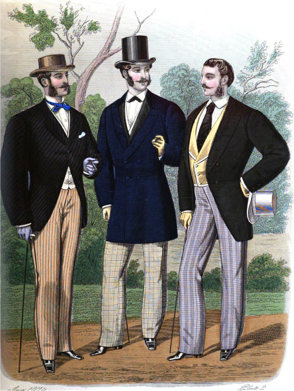 Mens Late Victorian Clothing